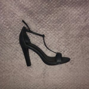 Express Shoes - T-Strap Heels